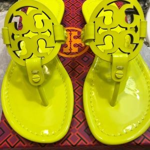 fbbffd31bc327 Tory Burch Shoes - Tory Burch Miller fluorescent yellow